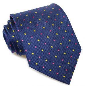 Wooly Neat: Tie - Blue
