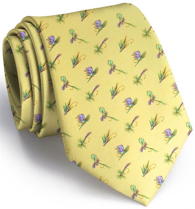 Hooked on Flies: Tie - Yellow