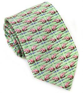 Elephant Bath: Tie - Mint
