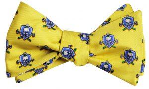Skull & Cross-Clubs: Bow - Yellow