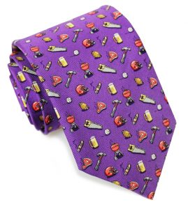 Guy Tie - Purple