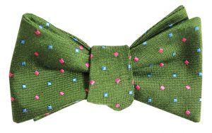 Wooly Neat: Bow - Green