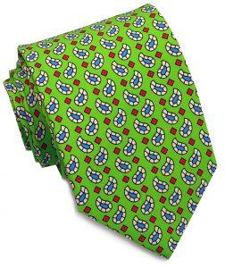 Pablo Paisley: Tie - Lime
