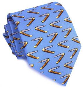 Mack the Knife: Tie - Blue