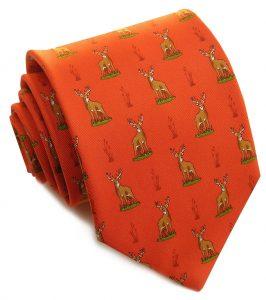 Buck Stops Here: Tie - Orange