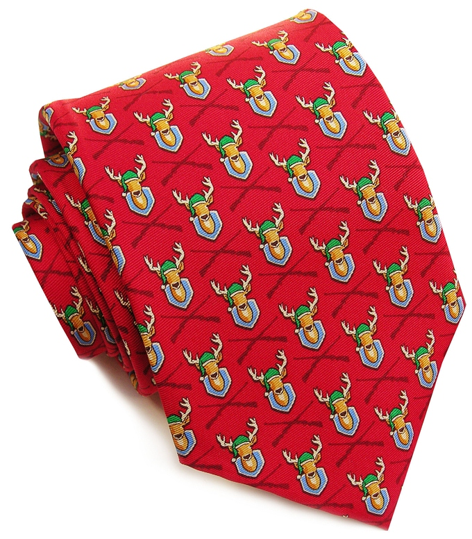 Deercember: Tie - Red