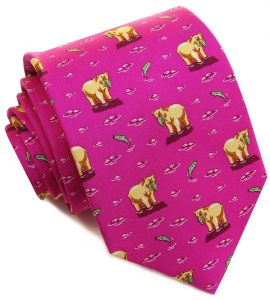 Bear Necessities: Boys' - Magenta