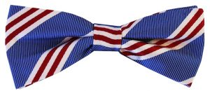 On Air Stripe: Boy's Bow - Blue