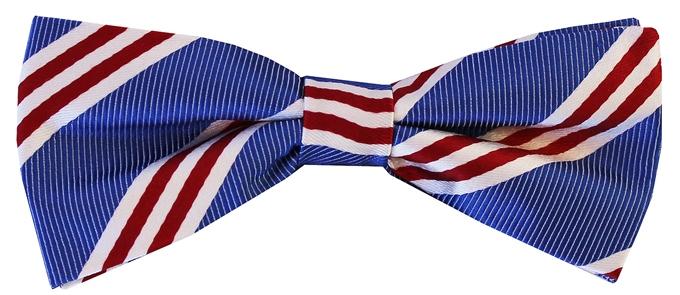 On Air Stripe: Boy's Bow - Blue