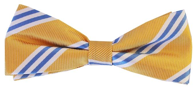On Air Stripe: Boy's Bow - Yellow