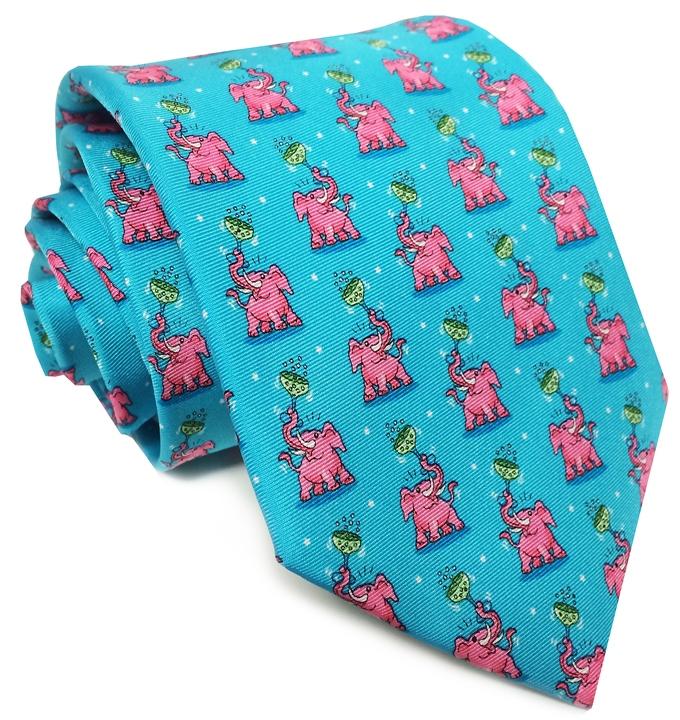 Pink Elephant - Turquoise