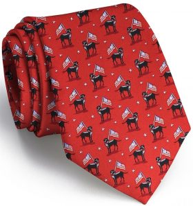 American Labs: Tie - Red