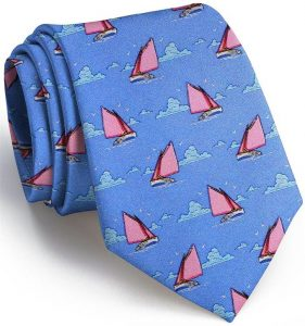 Catboat Race: Tie - Blue/Pink
