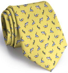 Shark Week: Tie - Yellow