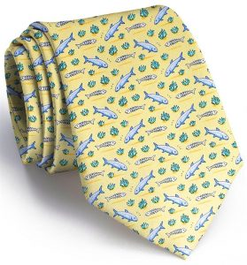 Bonefish Flats: Tie - Yellow