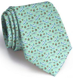 Bonefish Flats: Tie - Mint