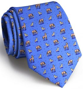 Horse Play: Tie - Blue