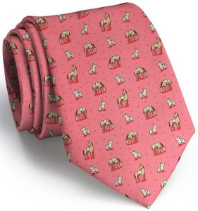 Horse Play: Tie - Coral