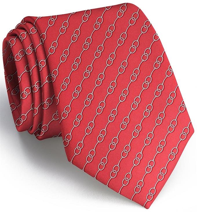 Just A Bit: Tie - Red