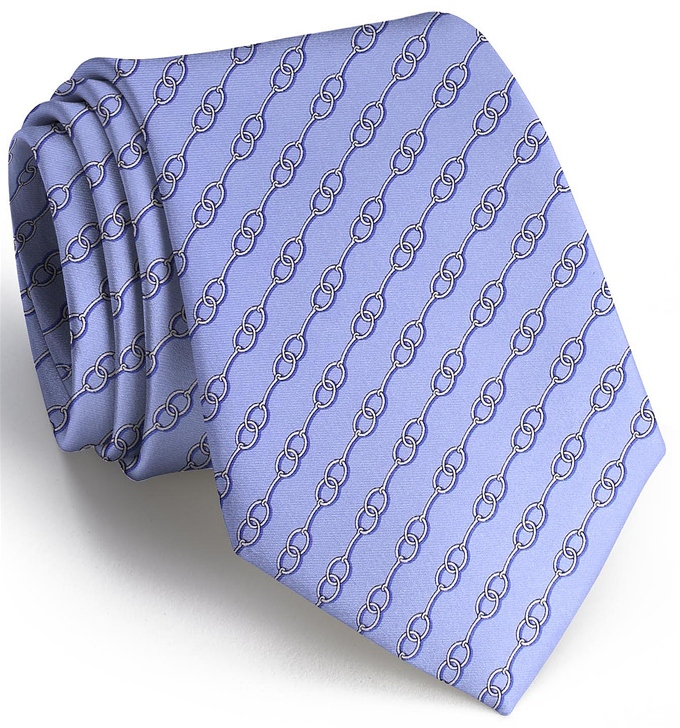 Just A Bit: Tie - Blue