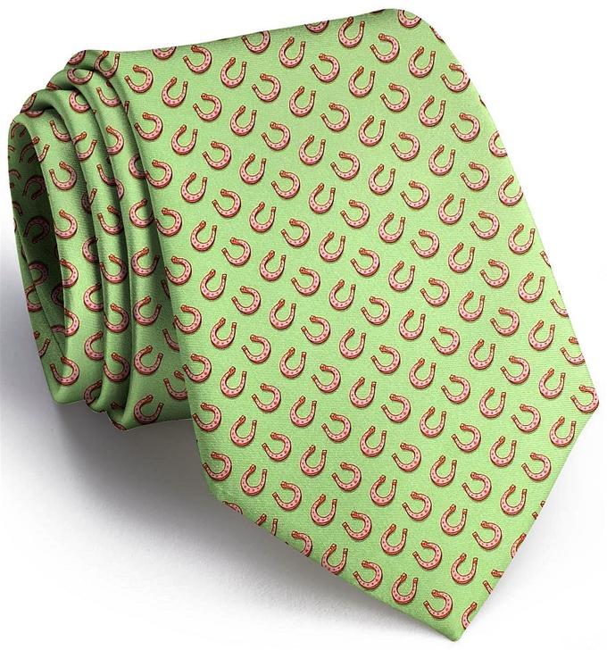 Horseshoe Heaven: Tie - Lime