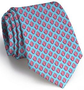Fleur De Lis: Tie - Turquoise