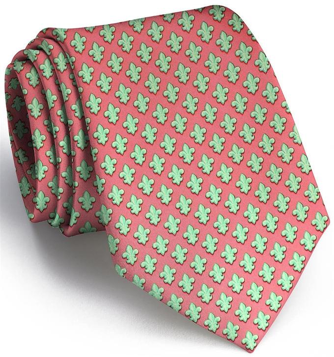 Fleur De Lis: Tie - Coral