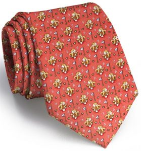 Bushwood Boogie: Tie - Coral