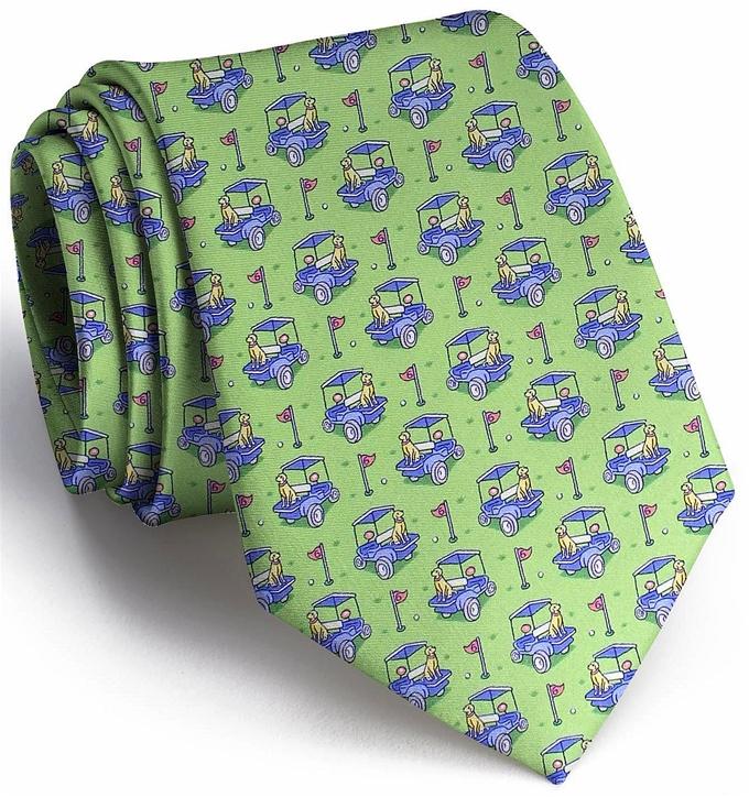 Golf Buddies: Tie - Lime