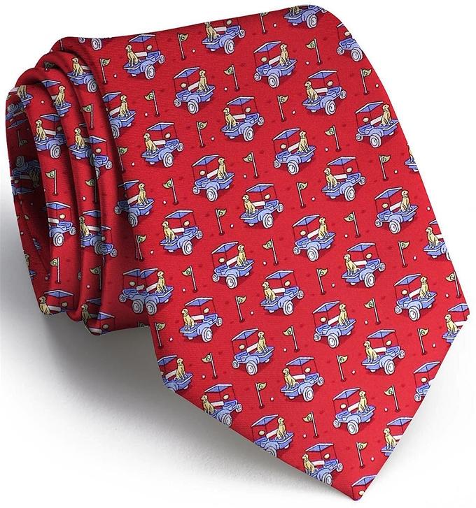 Golf Buddies: Tie - Red