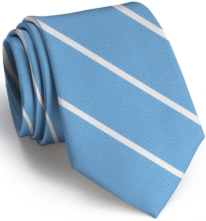 Shipley Stripe: Tie - Turquoise
