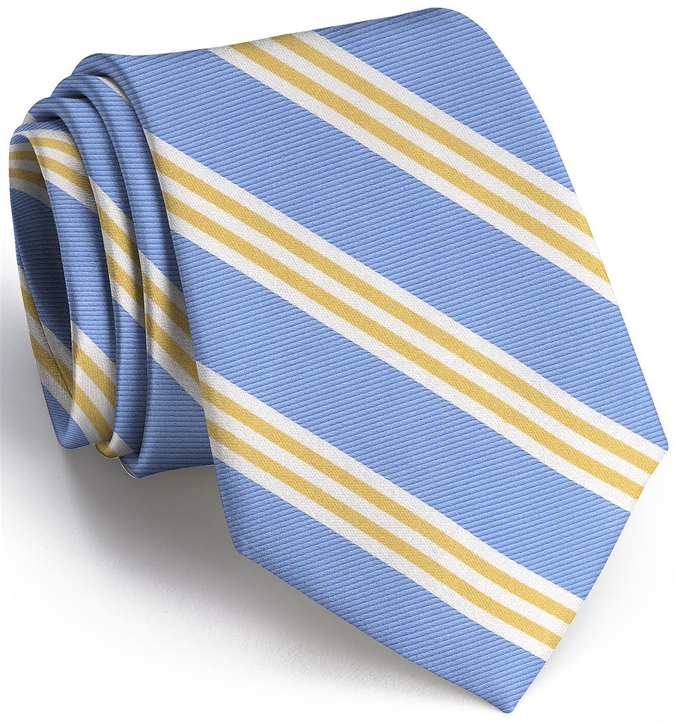 On Air Stripe: Tie - Blue/ Yellow