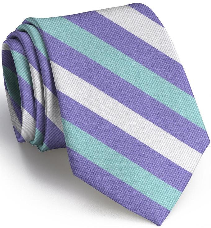Stafford Stripe: Tie - Violet