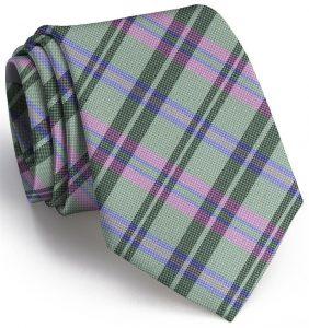 Paddock Plaid: Tie - Lime