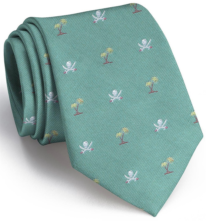 Jolly Roger English Woven Pedigree: Tie - Mint