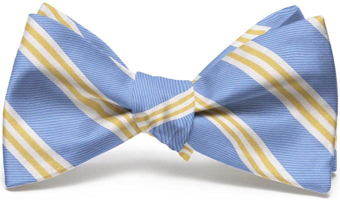 On Air Stripe: Bow - Blue/Yellow