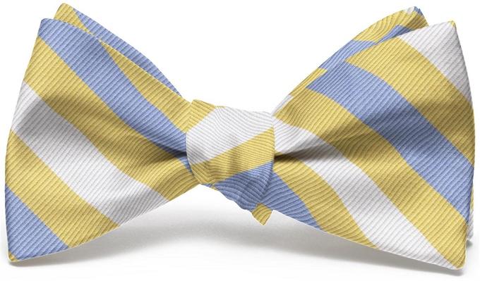 Stafford Stripe: Bow - Yellow
