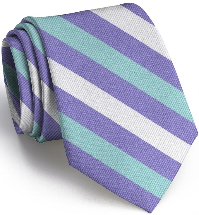 Stafford Stripe: Extra Long - Violet