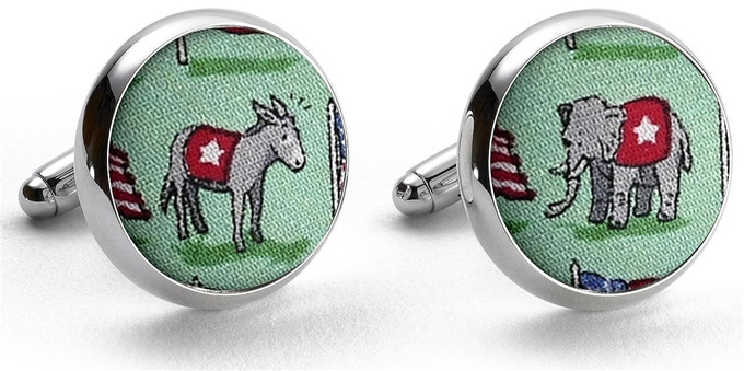 Surprise Party: Cufflinks - Mint