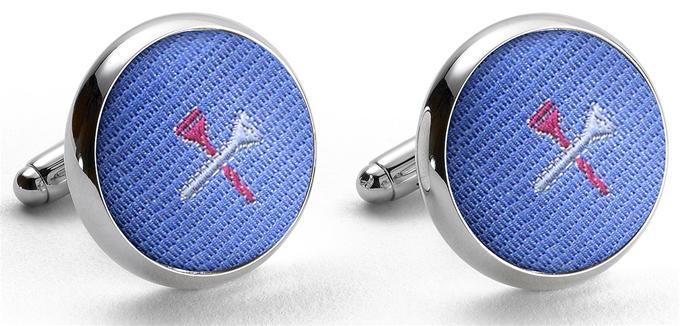 Pedigree Tee Time: Cufflinks - Blue