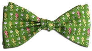 Seahorse: Bow - Green
