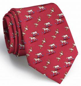 Quail Hunt: Tie - Red
