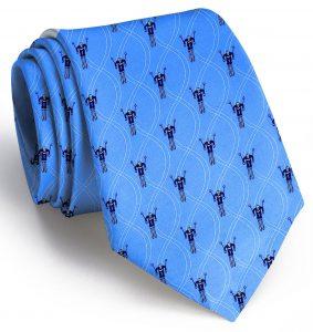 Ski Bum: Tie - Blue
