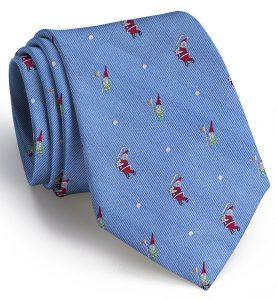 Swingin' Santa: Tie - Blue