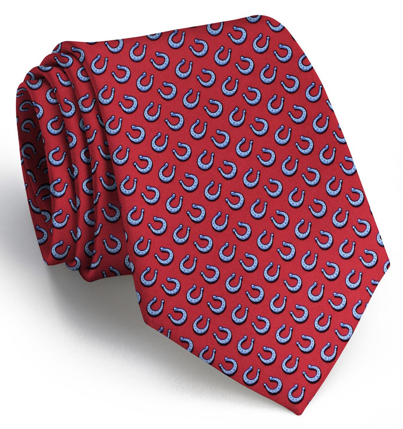 Horseshoe Heaven: Tie - Red