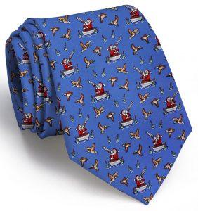 Crack Shot Kringle: Tie - Blue