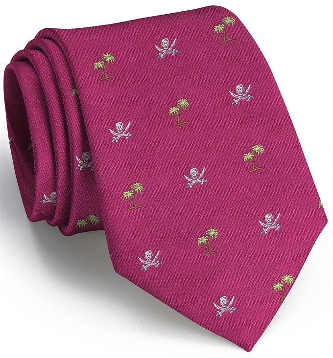 9b01b59c2e03 Jolly Roger Club Tie: Boys - Fuchsia - Bird Dog BayBird Dog Bay