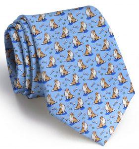Lucky Lassie: Tie - Blue