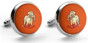 Duck Dogs: Cufflinks - Orange