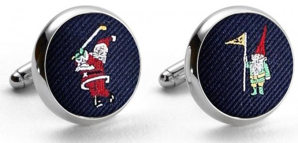 Pedigree Swingin' Santa: Cufflinks - Navy
